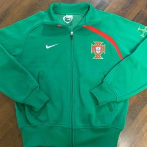 PORTUGAL FUTBOL & TRACK NATIONAL TEAM JERSEY